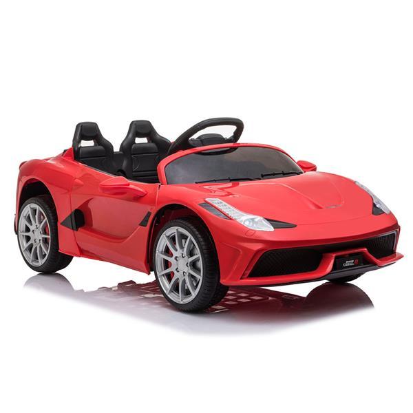 12V Kids Ride On Sports Car 2.4GHZ Τηλεχειριστήριο με λειτουργία LED Light Music - Κόκκινο