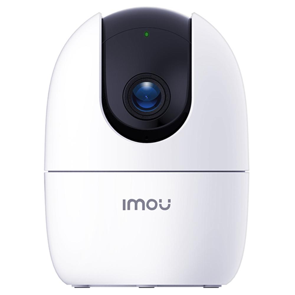 Dahua IMOU Ranger 2IPC-A22EPワイヤレスWiFiカメラ1080PHDナイトビジョン人間検出内蔵サイレン双方向トークホームカンパニーセキュリティモニター-ホワイト