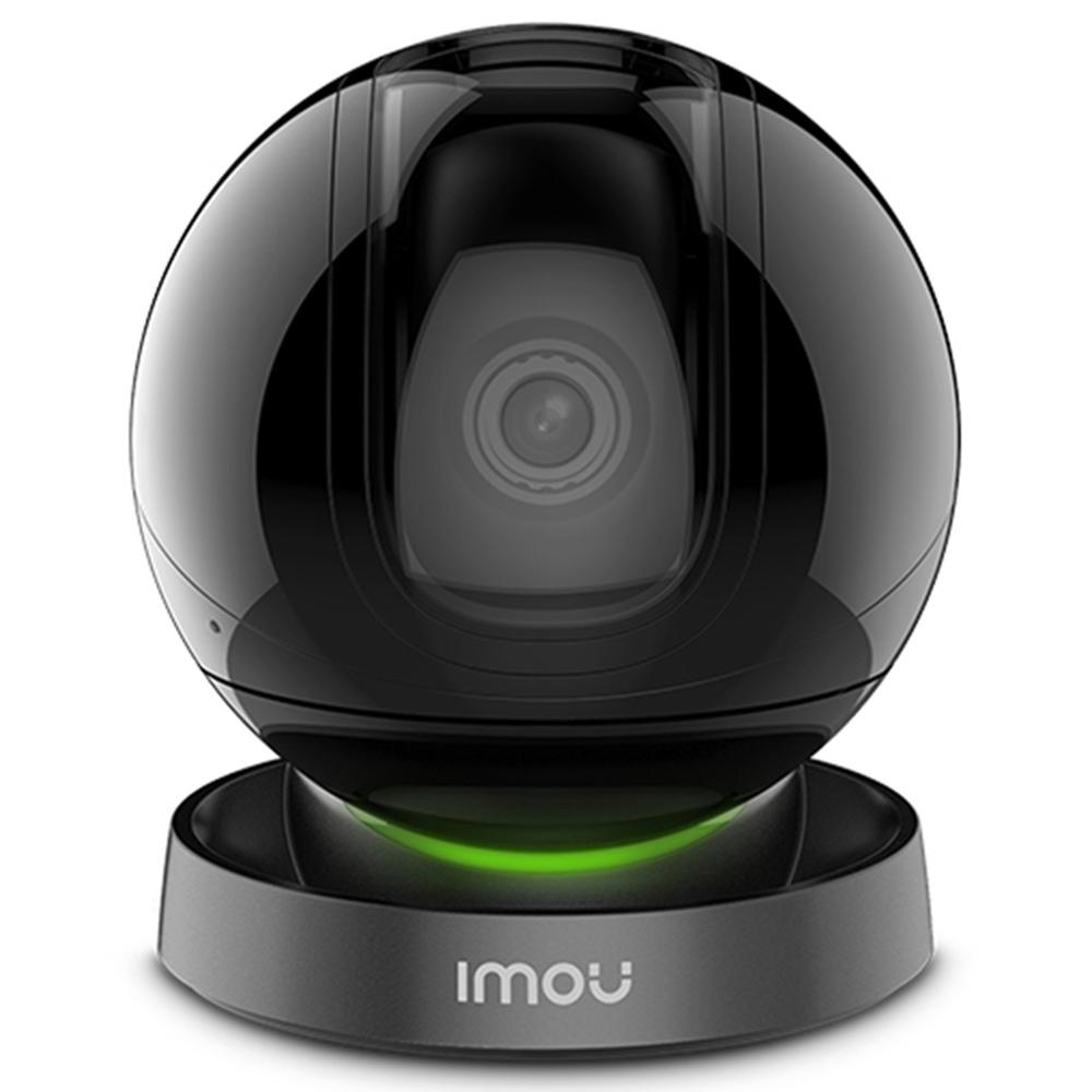 Dahua IMOU Ranger IQ IPC-A26HIP Cámara IP 1080P HD Visión nocturna AI Detección humana Grabación de voz personalizada Sirena Habla bidireccional Monitor de seguridad de la empresa doméstica - Negro