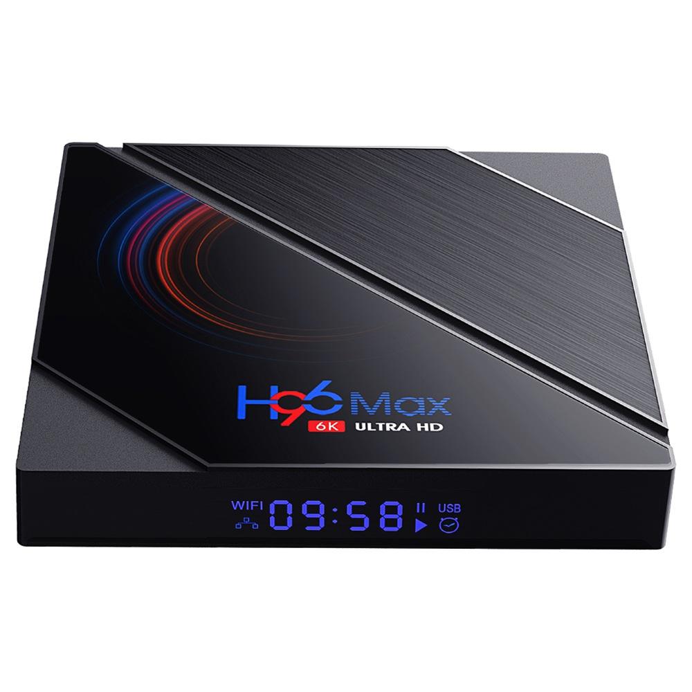 H96 MAX H616 2 GB / 16 GB Android 10 TV-Box Allwinner H616 2.4 G + 5.8 G WiFi 100 Mbit / s LAN Bluetooth