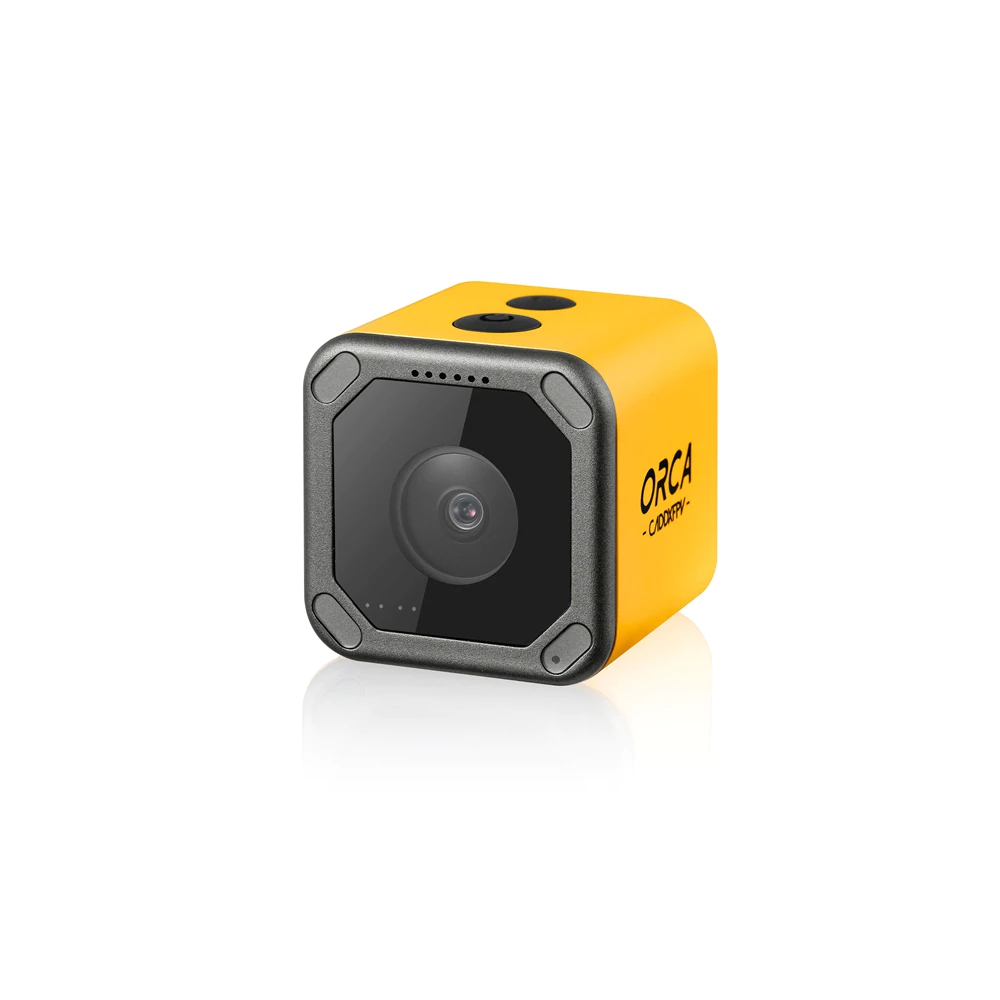 Caddx Orca 4K WIFI FOV160度アンチシェイクDVRFPVアクションカメラFPVレーシングRCドローン用