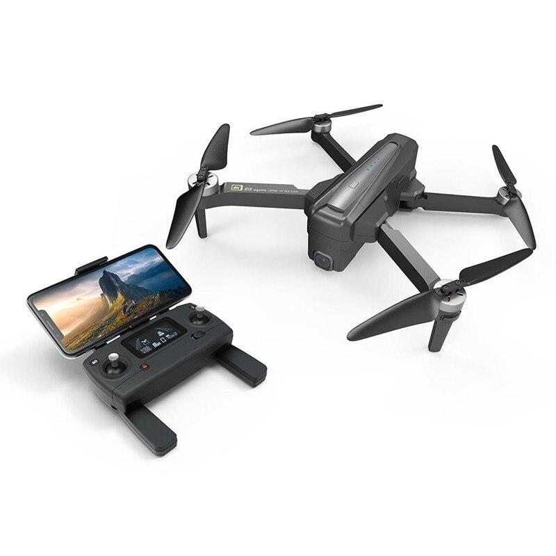 MJX B12 4K 5G WIFI FPV EIS Fotocamera regolabile Brushless GPS RC Drone con posizionamento del flusso ottico RTF - Due batterie