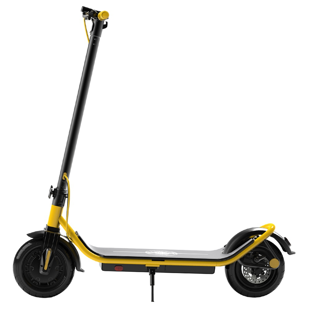 Urban Drift S006 10 Inch Electric Scooter 10Ah Aluminium Alloy Body 350W Motor Rear Disk Brake 25km / h - Yellow