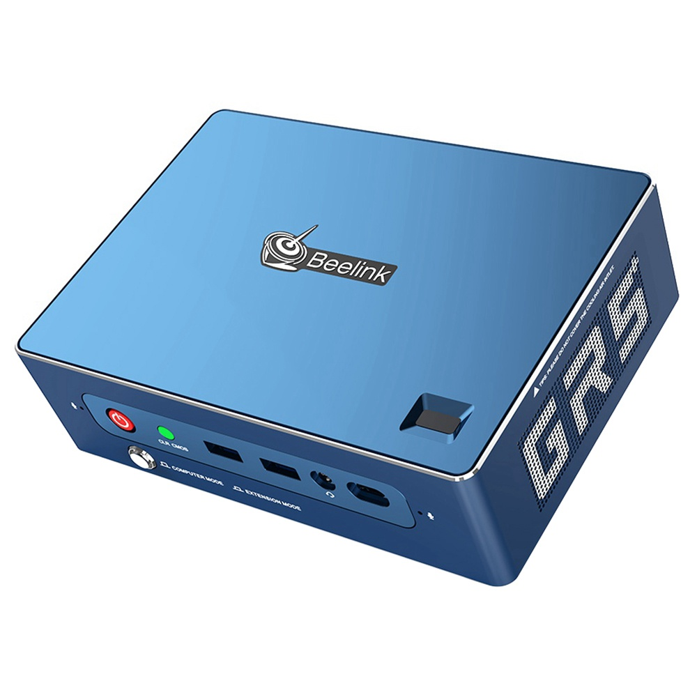 Beelink GT-R Pro MINI PC AMD Ryzen5Hクアッドコア3550GBRAM 16GB SSD 512TB HDD Radeon Vega1グラフィックスWi-Fi認定8ax Bluetooth 6 HDMI * 802.11 DP RJ5.1 * 2Type-Cスクリーンミラーリング