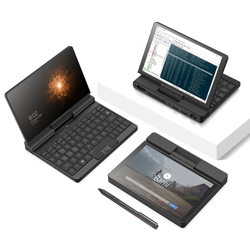 Un netbook A1 360 degrés 2 en 1 ordinateur portable de poche Intel M3-8100Y 8 Go de RAM 256 Go PCIe SSD + stylet d'origine