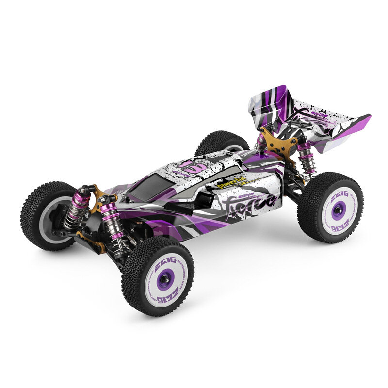Wltoys 124019 1/12 2.4G 4WD 60km / h Metal Şasi Off-Road RC Araba RTR
