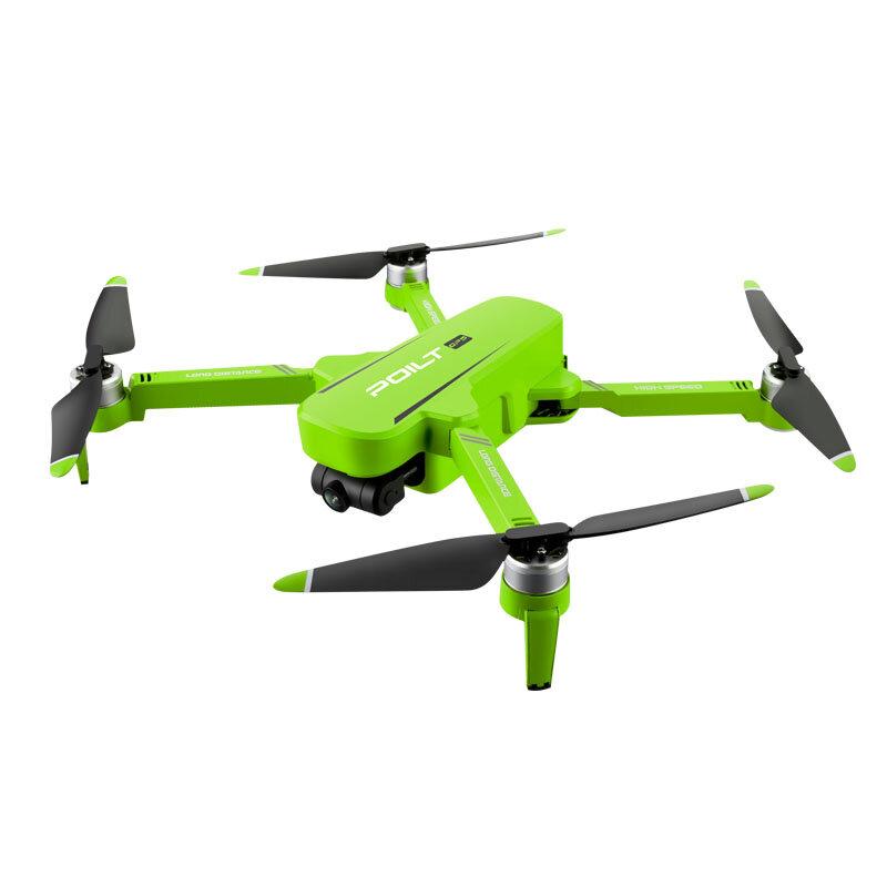 JJRC X17 6K 5G WIFI FPV GPS kefe nélküli összecsukható RC drón 2 tengelyes Gimbal kettős kamerával Optikai áramlás pozícionálás RTF - Zöld egy akkumulátor táskával