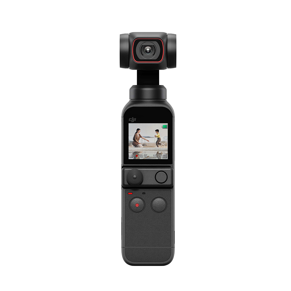 DJI Osmo Pocket 2 4K HD 3-Axis Stabilized Gimbal Camera 60FPS 93 Degree 64MP AI Editor Stereo Recording