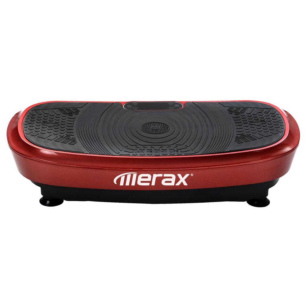 Merax Vibration Plate 3D Wipp Vibration Technology Με Bluetooth ηχείο - Κόκκινο