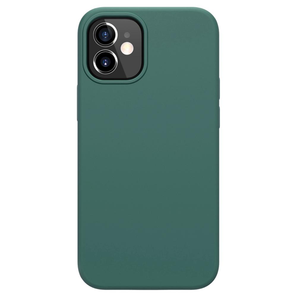 Liquid Pure Case aus flüssigem Silikonkautschuk für Apple iPhone 12 Mini - Grün