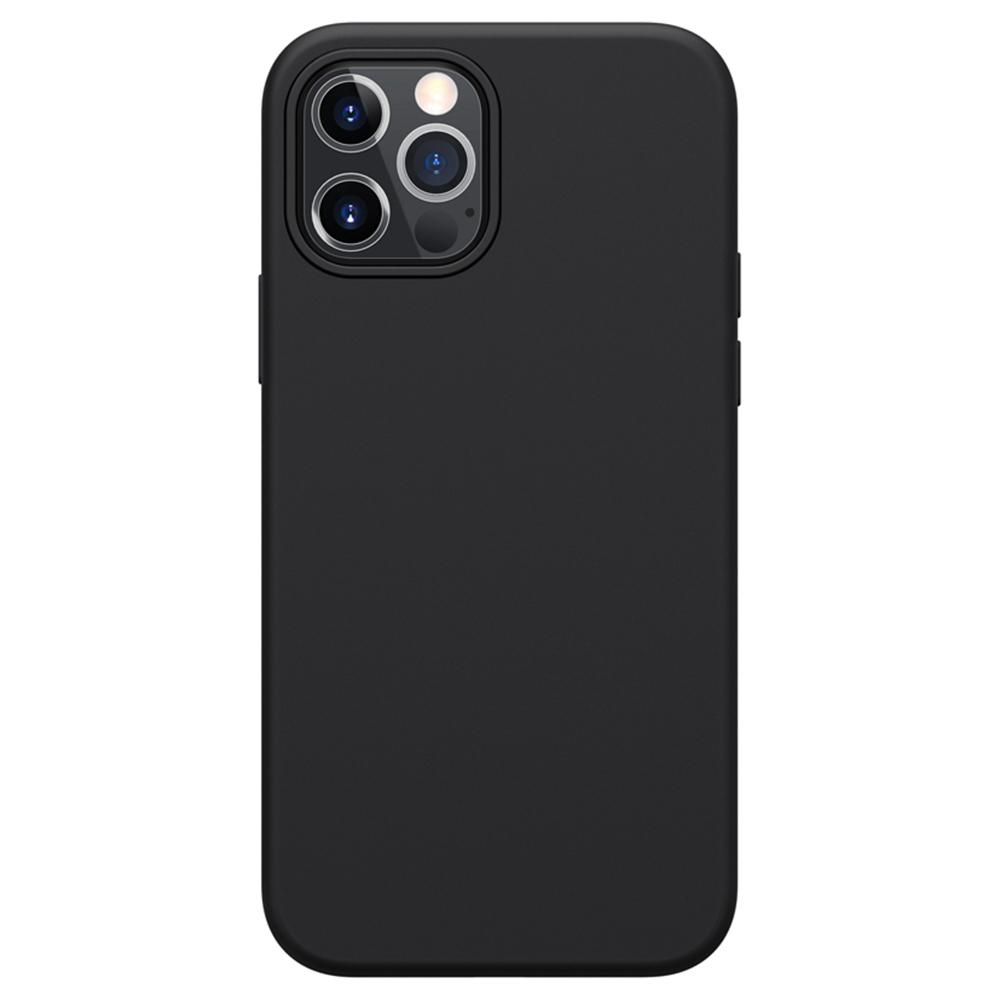 Liquid Pure Case aus flüssigem Silikonkautschuk für Apple iPhone 12/12 Pro - Schwarz