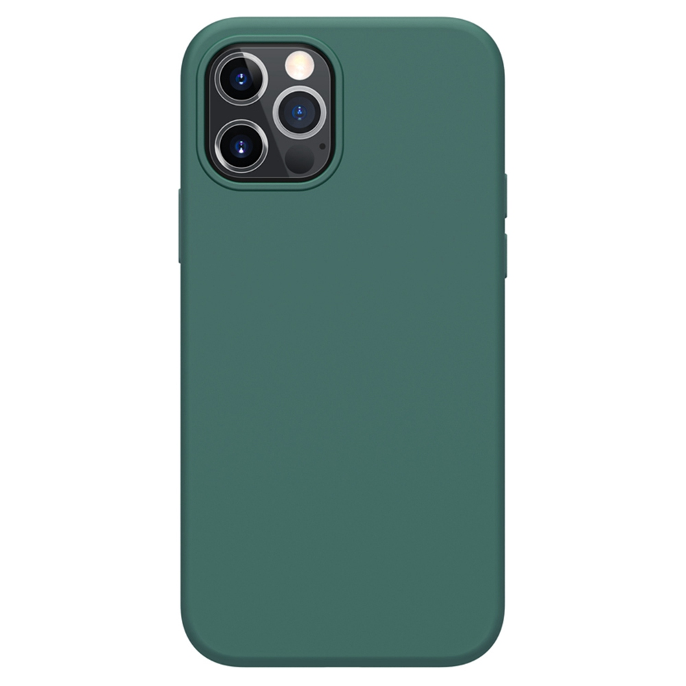 Liquid Pure Case aus flüssigem Silikonkautschuk für Apple iPhone 12/12 Pro - Grün