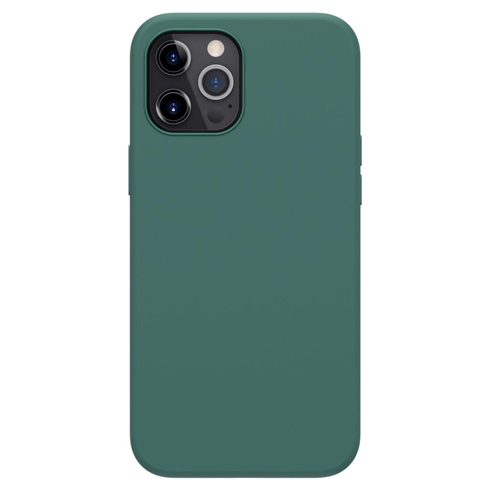 Liquid Pure Case aus flüssigem Silikonkautschuk für Apple iPhone 12 Pro Max - Grün