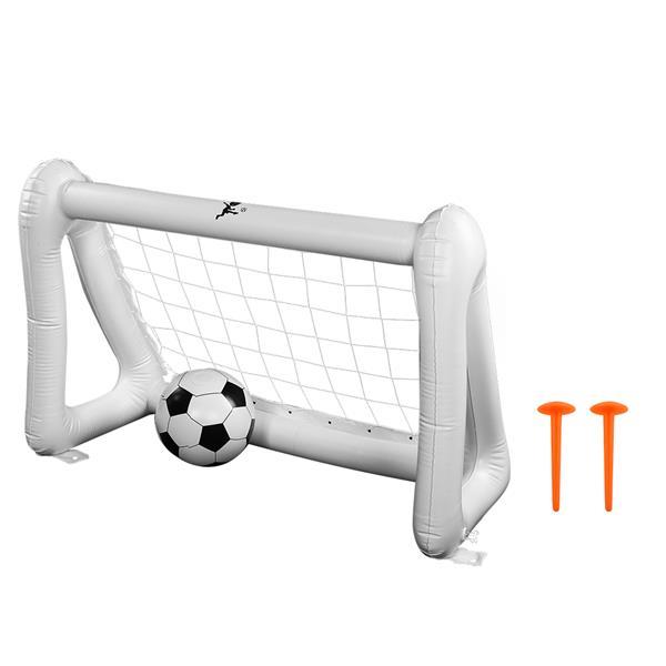 Felfújható foci szett játék Gyerekek beltéri szabadtéri lövöldözős gyakorlatok célhálós játékai