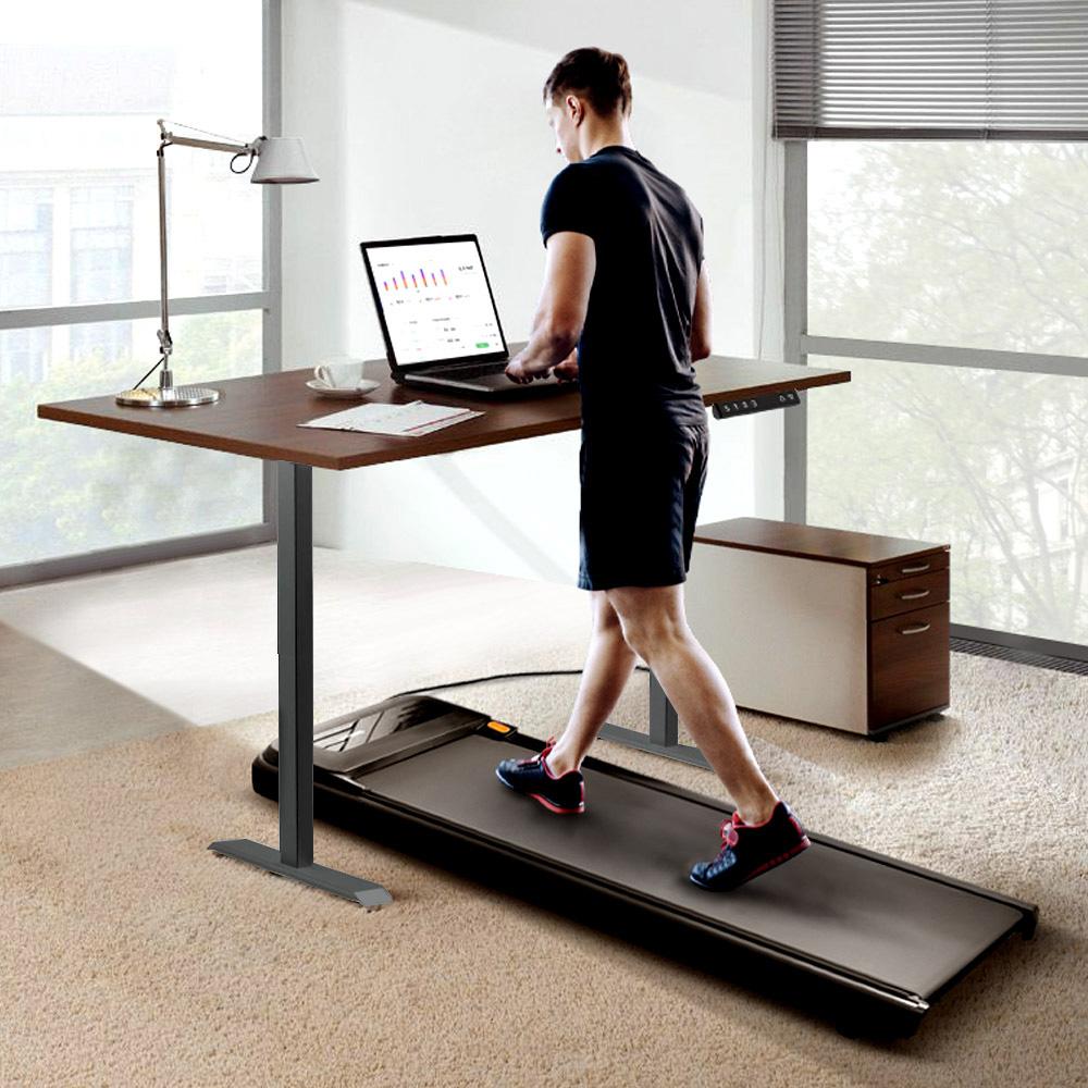 WalkingPad A1 Pro Walking Pad Smart Tapis roulant + Telaio da scrivania elettrico regolabile in altezza ACGAM nero