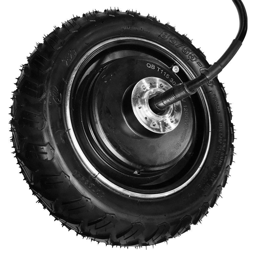 Запасные части для мотора + шины + колеса для складного электрического скутера KUGOO G-Booster - черный