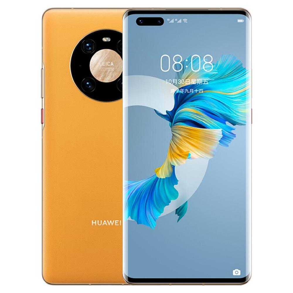 HUAWEI Mate 40 Pro CN Έκδοση 5G Smartphone 6.76 ίντσες Kirin 9000 Octa Core 8 GB 256 GB 50MP Πίσω κάμερα 66W Γρήγορη φόρτιση - Κίτρινο