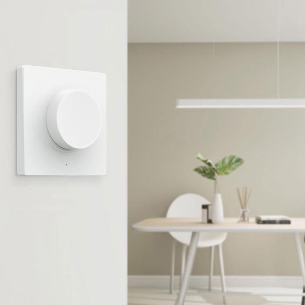 Версия для крепления Yeelight Smart Dimmer Switch APP Bluetooth Remote Control адаптирована к потолочному свету Mijia - белый