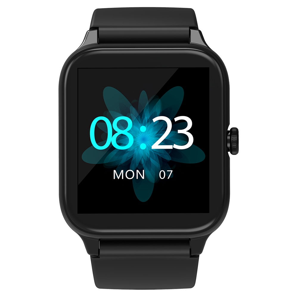 "Blackview R3 Pro Smartwatch 1.54"" TFT HD Round Screen Heart Rate Oximetry Monitoring Sleep Monitor 5ATM Sports Waterproof APP Supports Multiple Languages - Black"