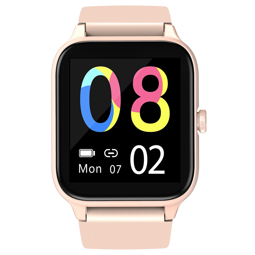"Blackview R3 Pro Smartwatch 1.54"" TFT HD Round Screen Heart Rate Oximetry Monitoring Sleep Monitor 5ATM Sports Waterproof APP Supports Multiple Languages - Pink"