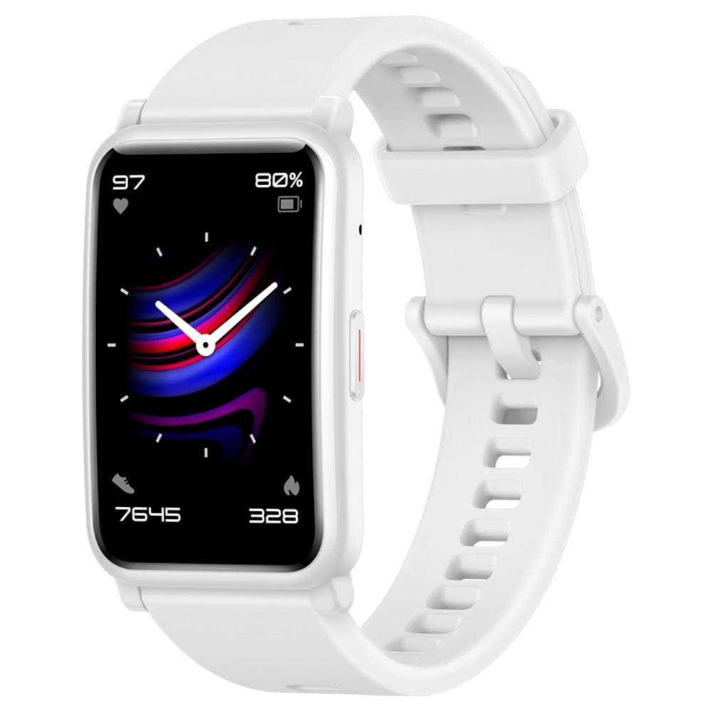 "HUAWEI Honor ES Smartwatch 1.64 ""AMOLED Touch Screen 95 Sports Modes Monitor Οξυγόνο αίματος Καρδιακός ρυθμός Πίεση Bluetooth 5.1 5ATM Αδιάβροχο - Λευκό"