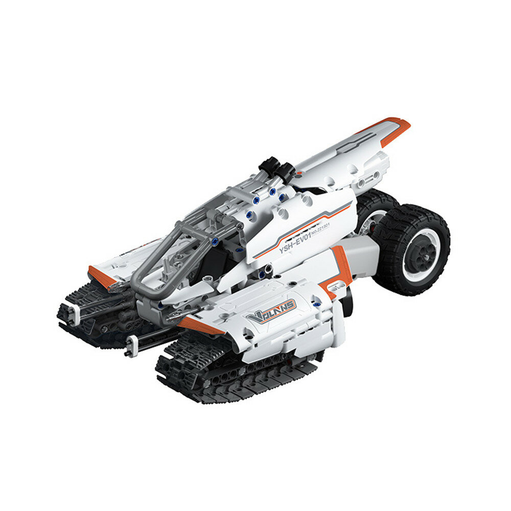 Klocki Xiaomi Flying Fish Shuttle Crawler Car Jupiter Dawn Series Sci-Fi Kids Puzzle Toy