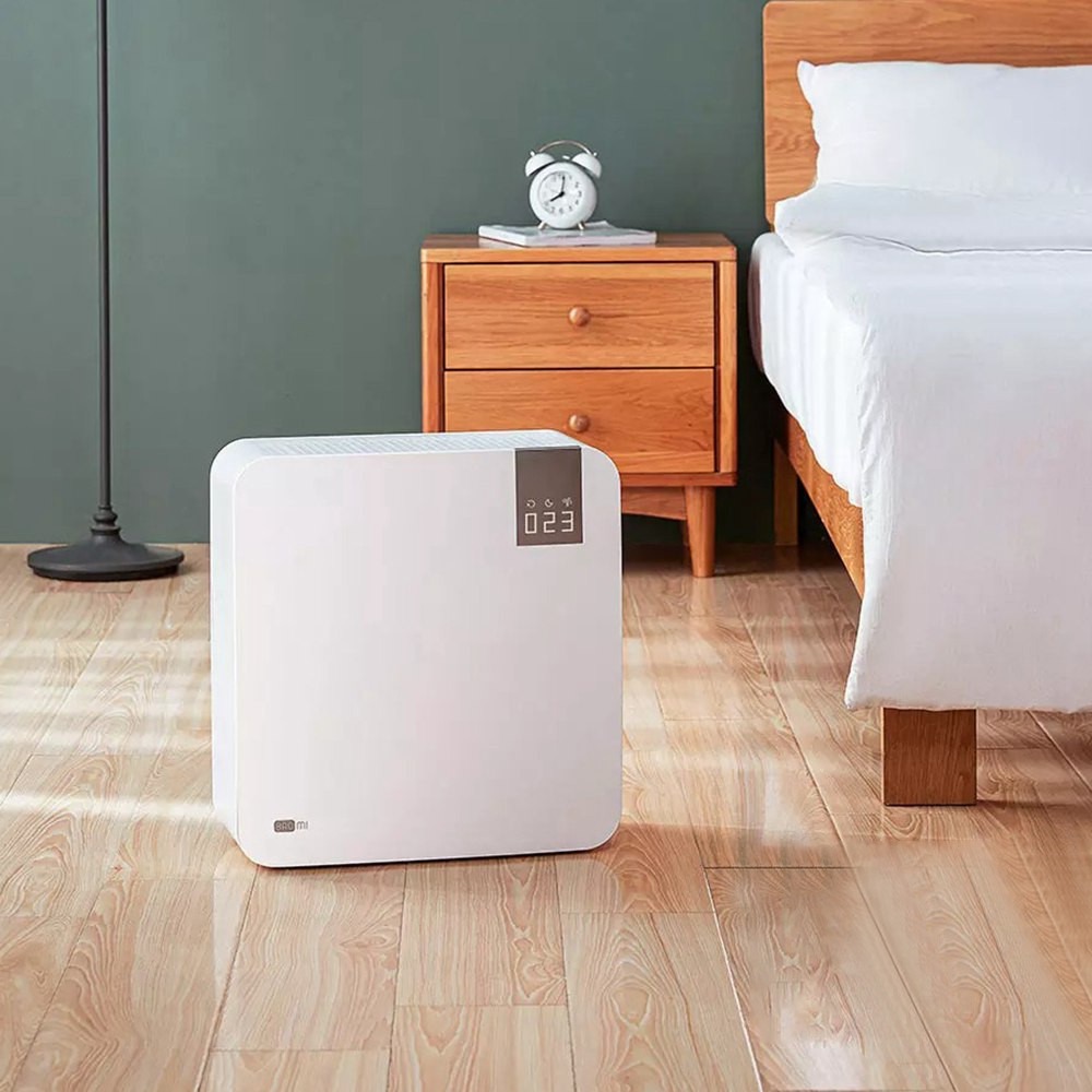 Baomi Air Purifier 2ης γενιάς Lite Effective Removal Formaldehyde 99.97% Rate Purification Digital Display AI Voice Intelligent Control from Xiaomi Youpin - Λευκό