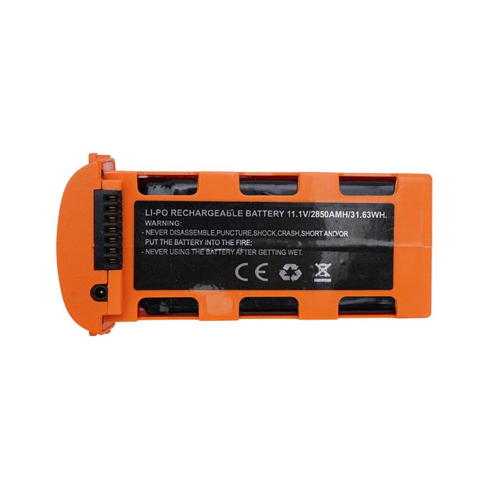 JJRC X17 RC Drone 11.1V 2850mAh intelligens repülési akkumulátor narancssárga