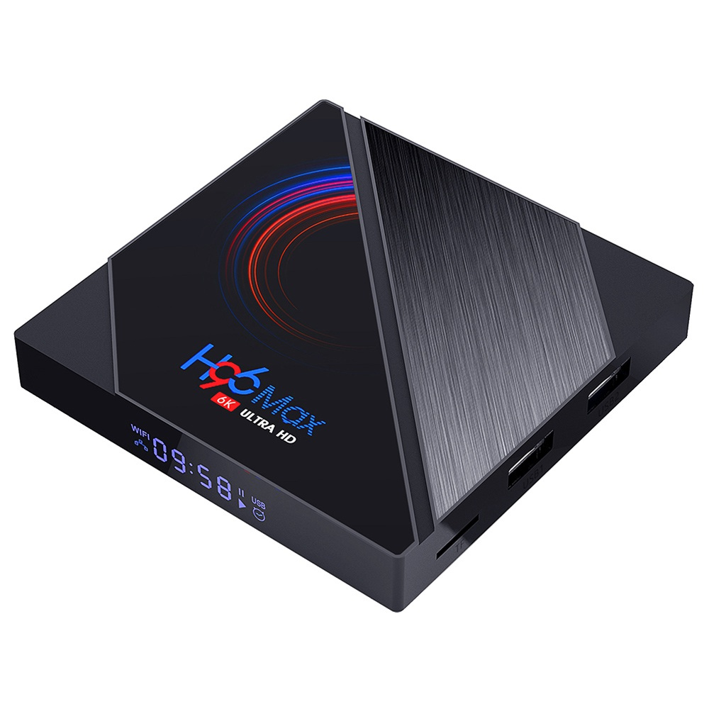 H96 MAX H616 4GB/64GB Android 10 TV Box Android 10.0 Allwinner H616 2.4G+5.8G WiFi 100Mbps LAN bluetooth