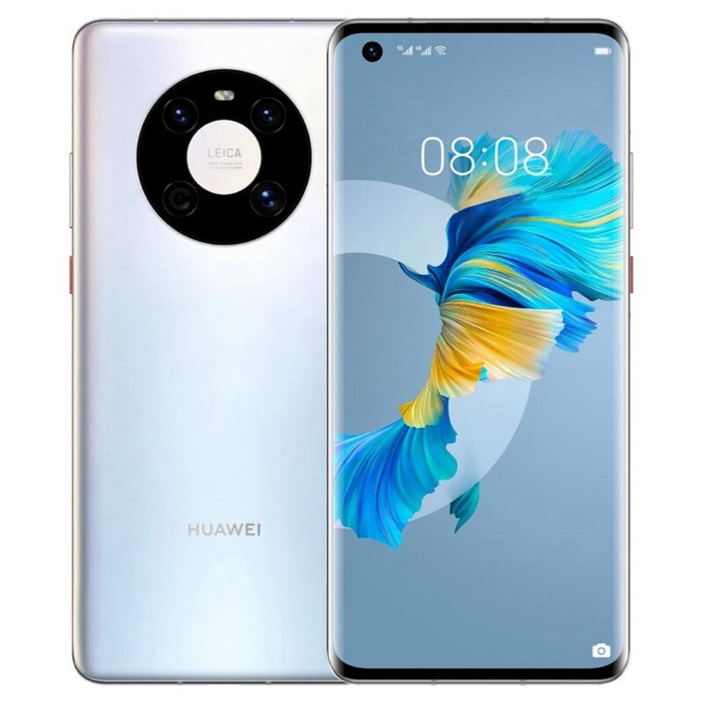 Huawei Mate 40 CN Έκδοση 5G Smartphone 6.5 ίντσες Kirin 9000E Octa Core 8GB 128 GB 50MP πίσω κάμερα 40W Fast Charge - Silver