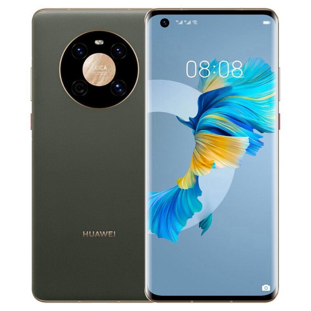 Huawei Mate 40 Version CN Smartphone 5G 6.5 pouces Kirin 9000E Octa Core 8 Go 128 Go 50MP Caméra arrière 40W Charge rapide - Vert