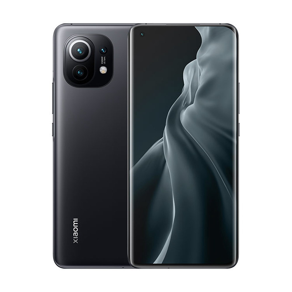 Xiaomi Mi 11 CN Sürüm 6.81 İnç 5G Akıllı Telefon Snapdragon 888 8GB Veri deposu 128GB 108MP Kamera 4600mAh MIUI 12 - Siyah