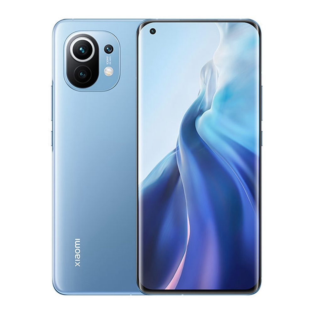 Xiaomi Mi 11 CN Έκδοση 6.81 Inch 5G Smartphone Snapdragon 888 8GB RAM 128GB 108MP Κάμερα 4600mAh MIUI 12 - Μπλε