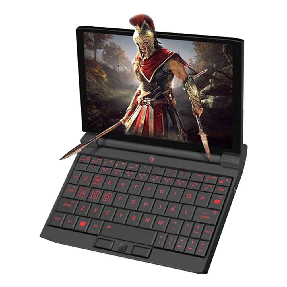 Один нетбук Игровой ноутбук OneGx1 Pro 7-дюймовый 1920x1200 Intel i7-1160G7 16GB RAM 512GB SSD WiFi 6 Windows 10 - версия 5G Черный