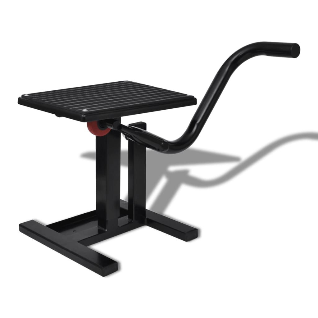 Professional Motorbike Lift Stand Black  - buy with discount