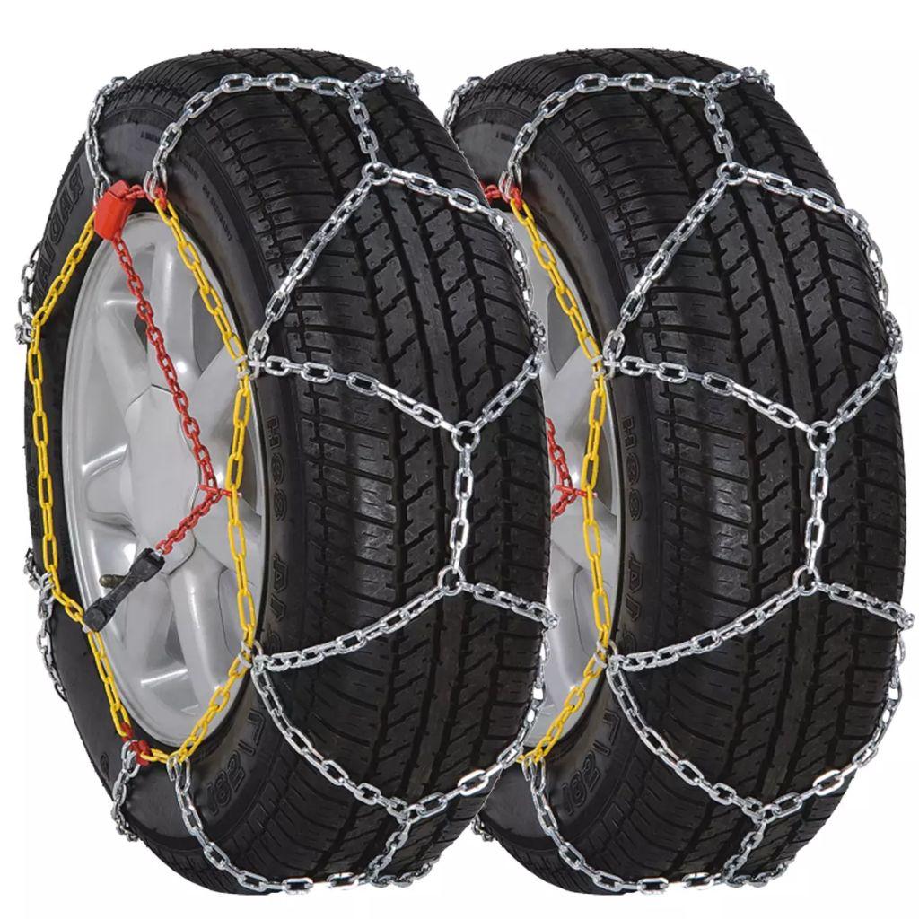 2 chaînes à neige de voiture 12mm KN110 235 / 40-18 225 / 40-19 235 / 50-17 215 / 60-16
