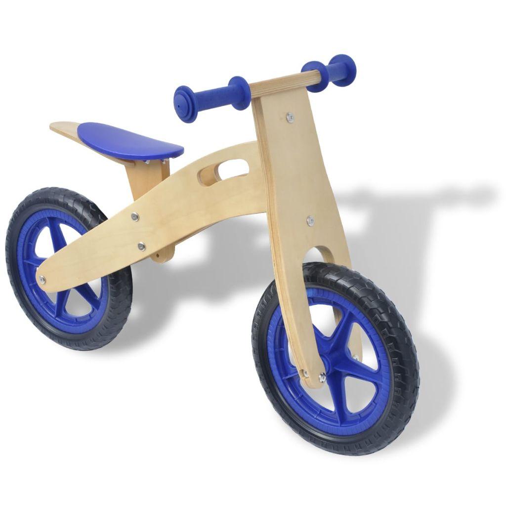 Balance Bike Wood kék