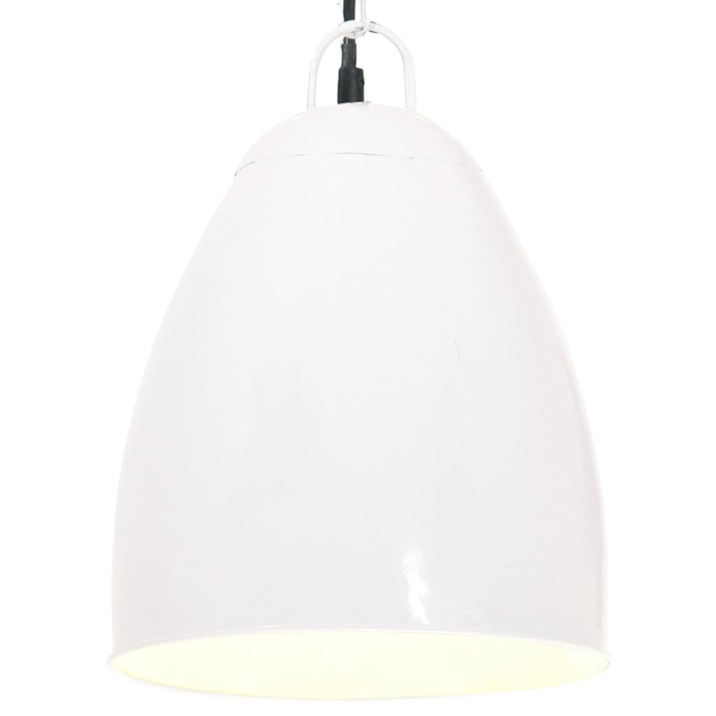 Industrial Hanging Lamp 25 W White Round 32 cm E27