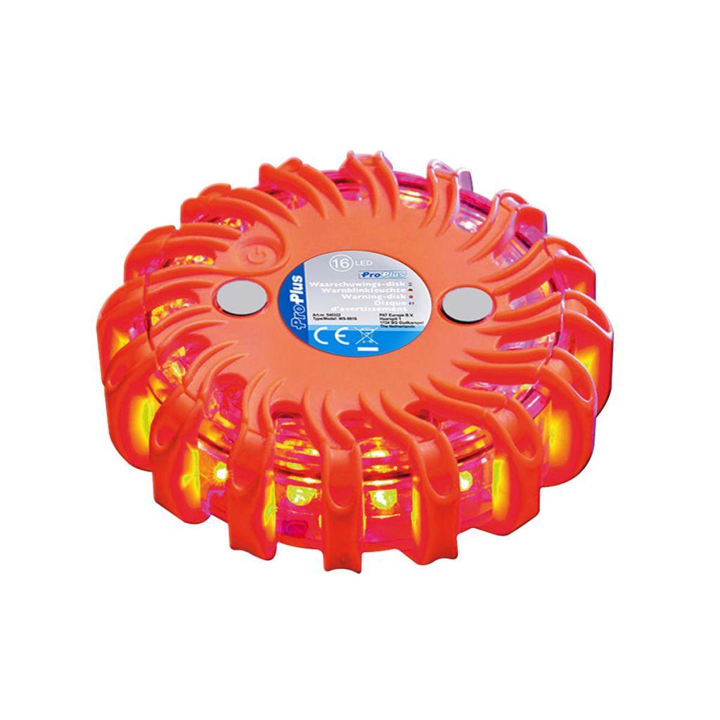 Disque d'avertissement ProPlus 16 LED Orange 540322
