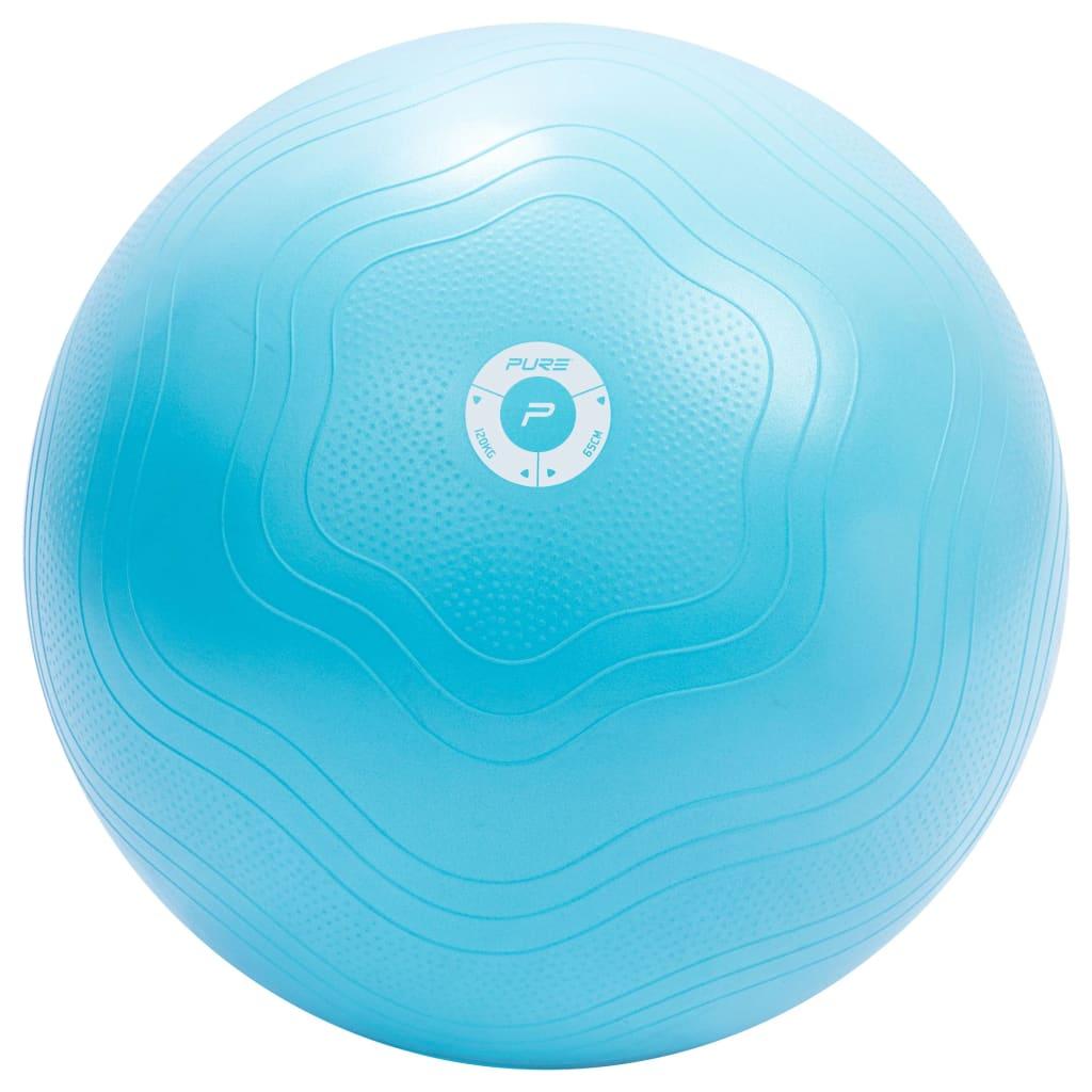 Pure2Improve Palla per esercizi 65 cm Azzurro