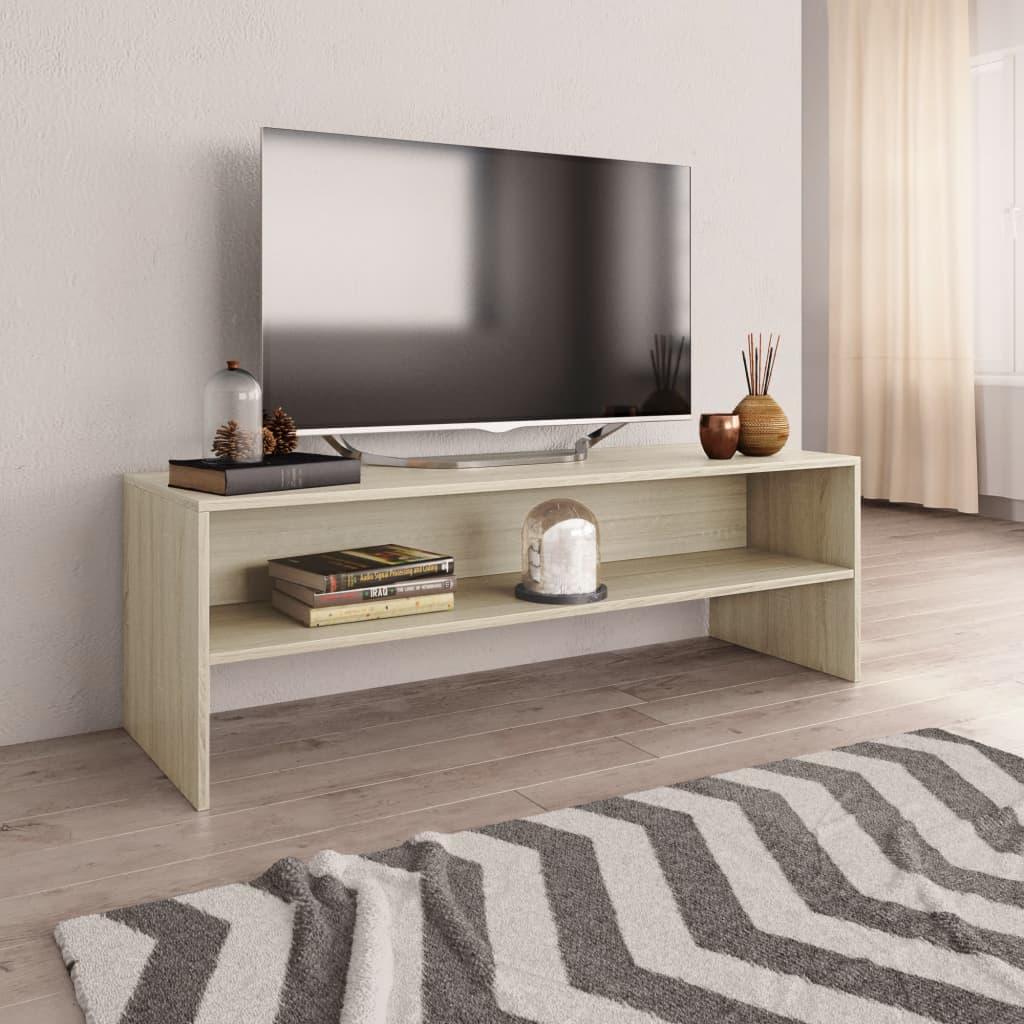 Meuble TV Sonoma Oak 120x40x40 cm Aggloméré