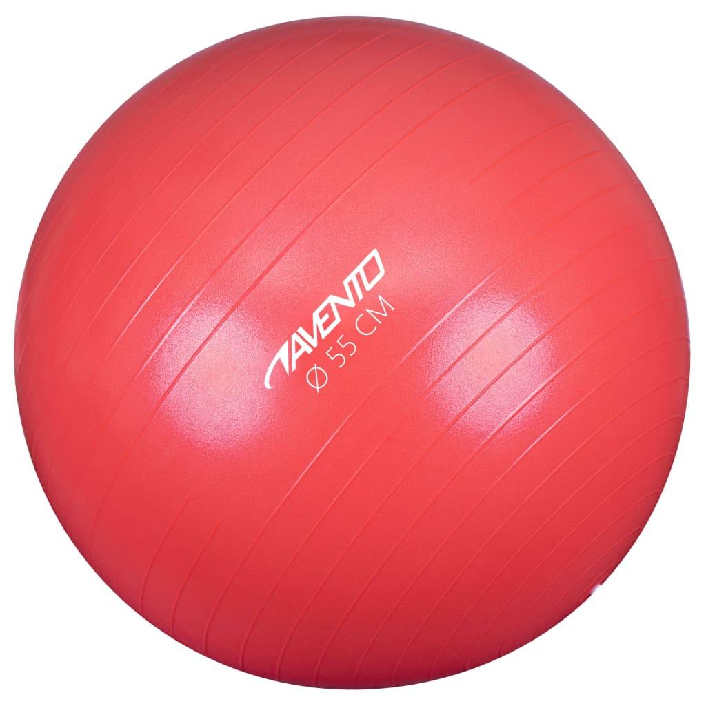 Avento Fitness / Gym Ball Dia. 55 cm ροζ