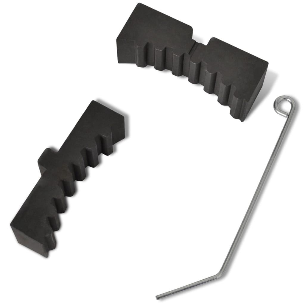 Jeu d'outils de blocage d'arbre à cames pour moteurs Opel Astra, etc.