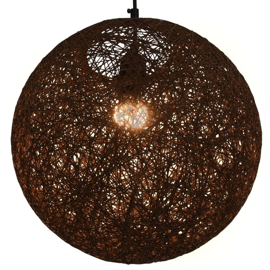 Подвесной светильник Brown Sphere 35 см E27