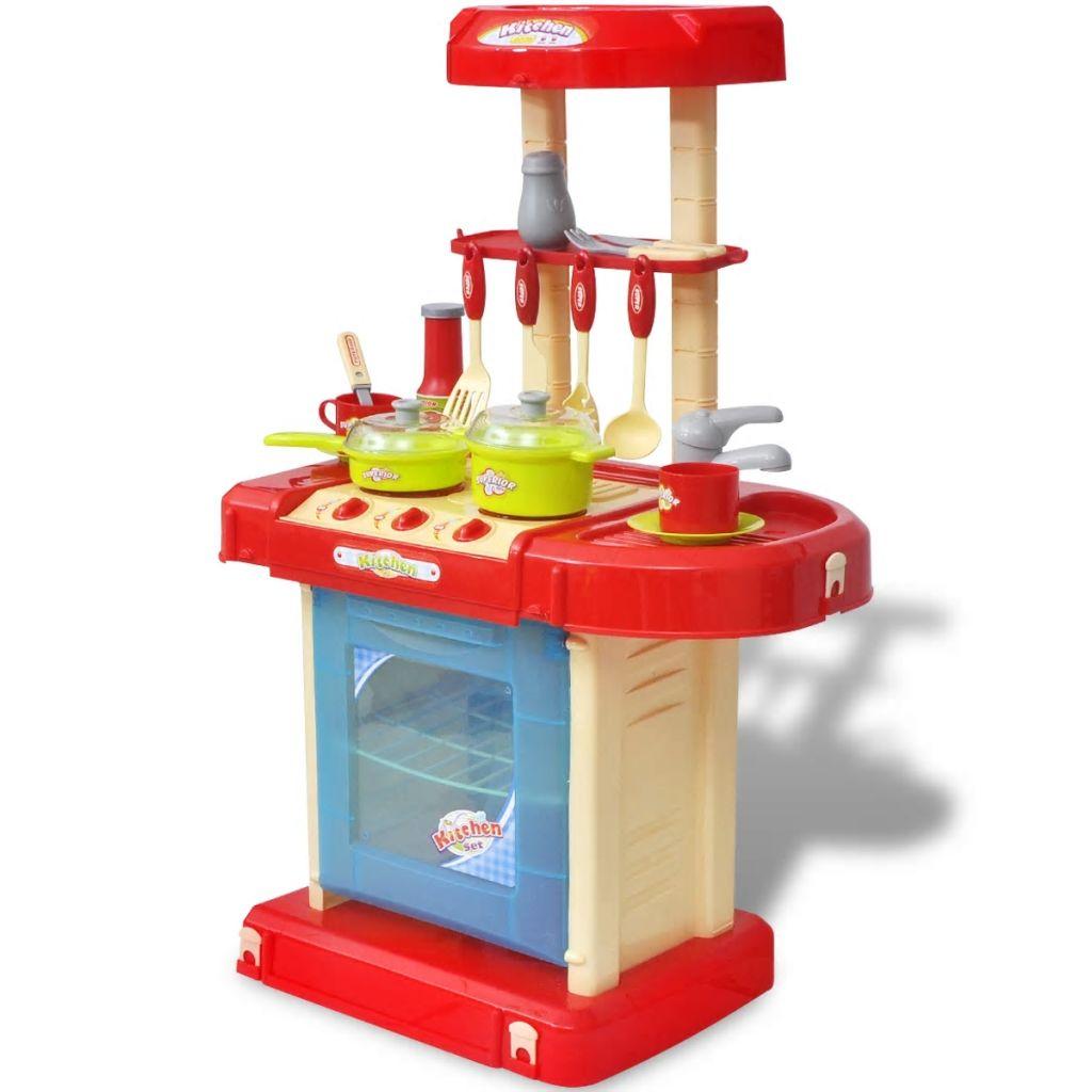 Gyerekek / gyermekek játszószobai konyhája fény- és hanghatásokkal