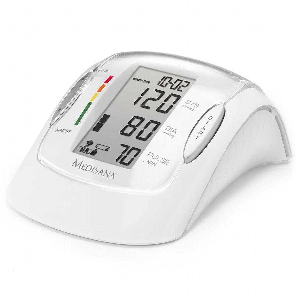 Medisana Oberarm Blutdruckmessgerät MTP Pro White 51090