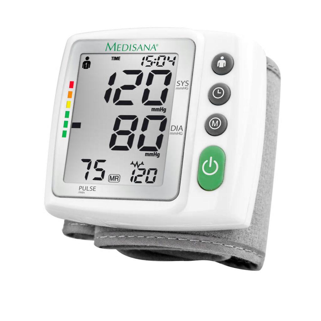 ميديسانا جهاز قياس ضغط الدم من المعصم BW 315 أبيض 51072