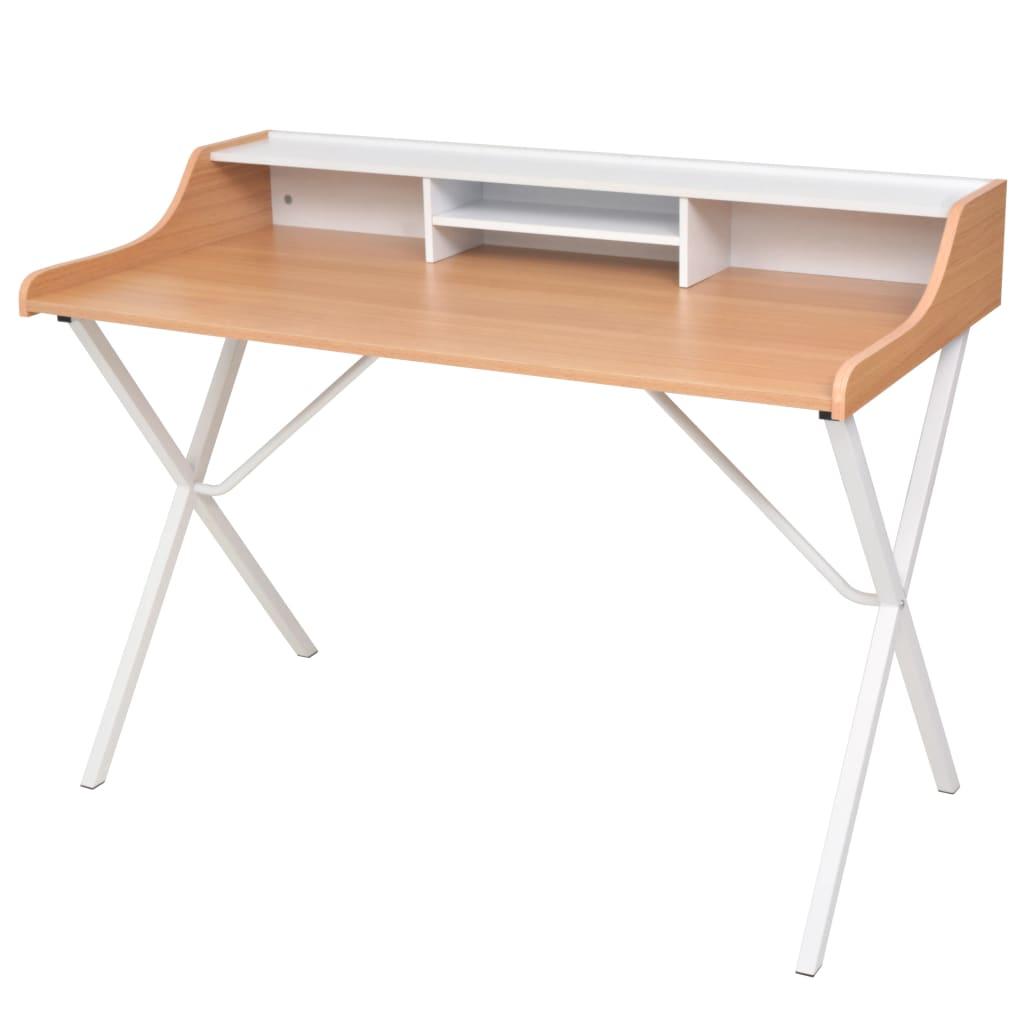 Γραφείο υπολογιστή από φυσικό ξύλο
