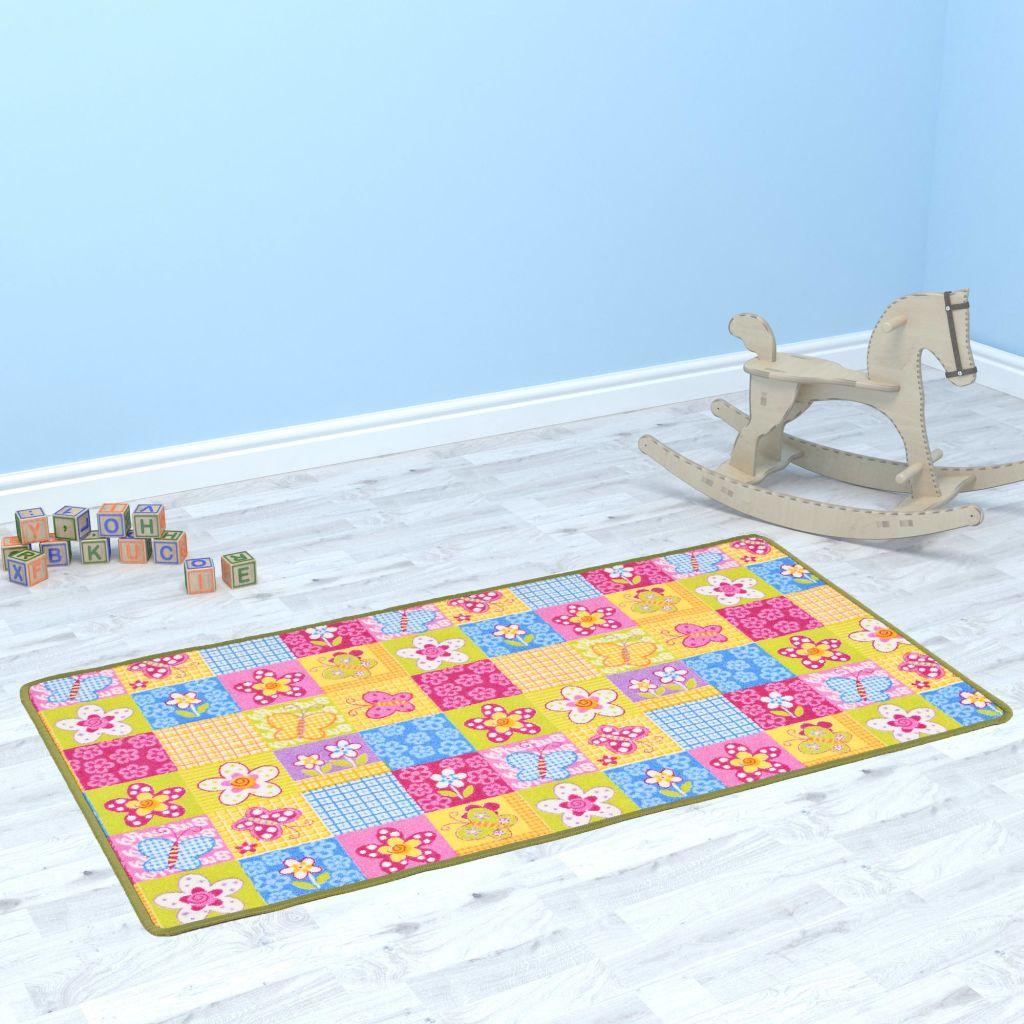 Παίξτε Mat Loop Pile 67x120 cm Μοτίβο πεταλούδας