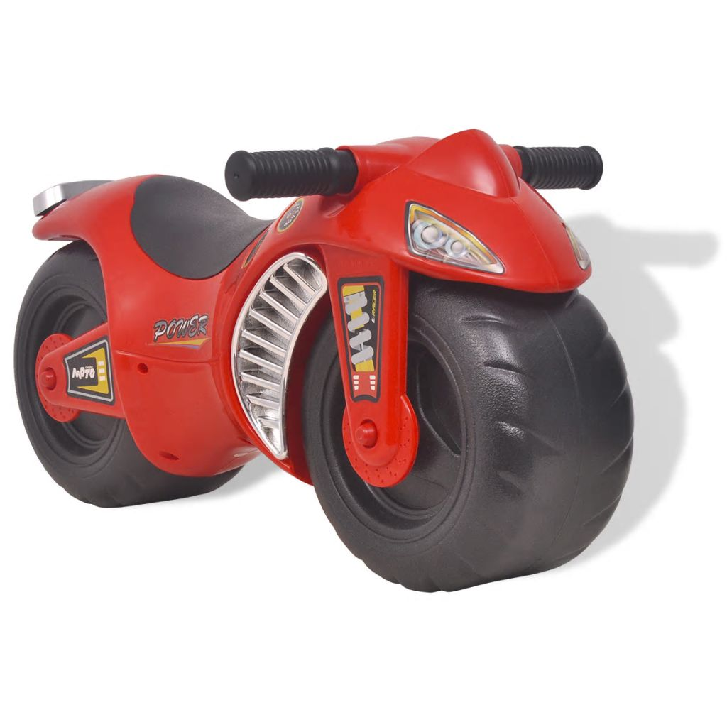 Ride-on Motorcycle Plastic Red